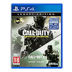 Call Of Duty Infinite Warfare Legacy Edition PS4/XB1 at Tesco instore £25!! (Glastonbury)