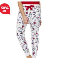 Tesco F&F sale now on, ladies men's and kids, pyjamas shown half price now £4, free next day click and collect
