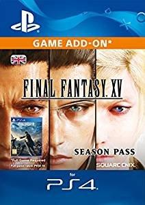 Final Fantasy XV Season Pass £17.49 [PS4 Download Code - UK Account] @ Amazon