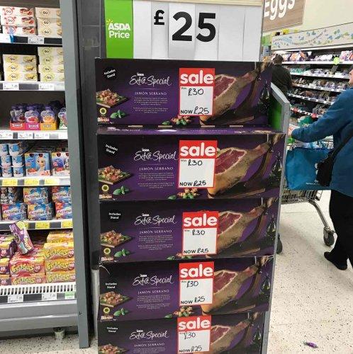 Serrano Ham-Was £30, Now £25 instore @ Asda