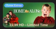 Home Alone HD - £2.99 on Itunes Store UK
