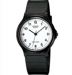 Casio Men's Quartz Watch with White Dial analogue display & Black Resin Strap £4.84 (using code from £5.09) @ 7dayshop inc. P&P  (+ back 2.87% TCB / 7.7% Quidco)