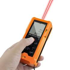 iFang 60m/197ft Handheld Digital Laser Distance Meter Measurering Tool £20.99 Sold by iFang_ UK and Fulfilled by Amazon