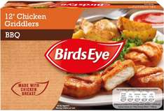 Birds Eye BBQ Chicken (58%) Griddlers (12 = 306g) was £2.00 now 2 packs for £2.00 at Iceland