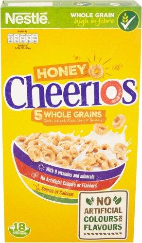 Nestle Honey Cheerios (565g) was £2.95 now £2.00 @ Sainsbury's