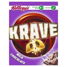 Kellogg's Krave Milk Chocolate (375g) was £2.81 now £1.50 @ Morrisons
