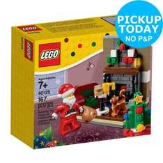 LEGO Santa's Visit - 40125 £8.49 // Argos eBay Store // Free Click and Collect