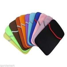 99p *SALE* Carry Sleeve Neoprene Cover Bag Case For 6 7 10 Inch Laptop/iPad/Tab, on eBay Site, with Free Click & Collect at Argos @ igorotamart / Ebay