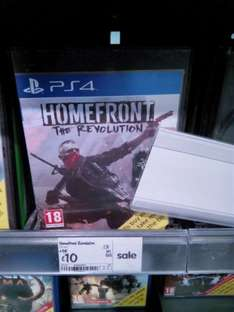 Homefront ps4  £10 Asda crawley