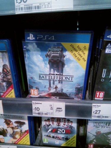 battlefront ps4 £10 instore Asda crawley