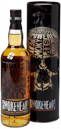 Smokehead Single Islay Malt Whisky 70 cl - £26.99 - Amazon Lightning Deal