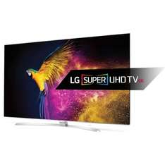 LG 55UH950V 55 inch Super Ultra HD 4K Smart TV  (2016 Model) - Silver £1025.70 @ Amazon Lightning Deal