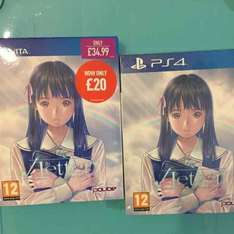 Root Letter limited edition PS4/VITA £20 each @ game instore