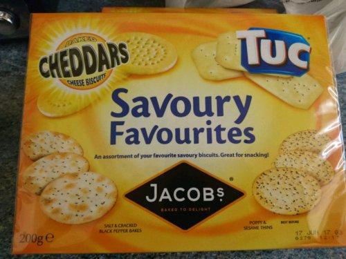 Jacobs savory favourites 50p instore @ Wilko