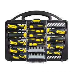 Stanley 34-Piece Professional Screwdriver Set with Carry Case now £13.49 (free C&C) with code @ Robert Dyas / £14.99 @ Amazon (Prime exclusive)