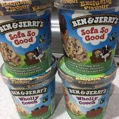Ben & Jerrys Sofa so Good + Wholly Couch Ice Cream £1 in Tesco. Riverside, Dundee. Nationwide???