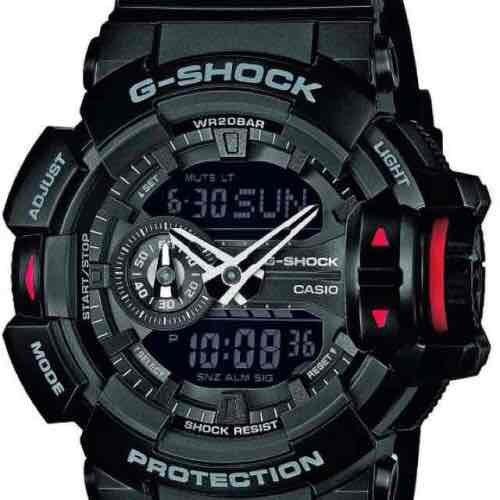 Casio G-Shock Men's GA-400-1BER With Black Dial Black Resin Strap £94 @ Amazon UK