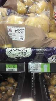 Asda Marabel potatoes  Exclusively grown 2kg 75p