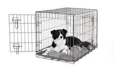 Dogit 2 Door Wire Cage/Home (Medium, Black) was £44.39 now £29.99 + free Lifelong Hypoallergenic Adult Dog Food (2.5kg) @ Amazon
