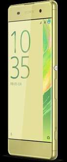 Sony Xperia XA in Lime Gold or Black. 'Perfect Like New' for £79.99 @ O2