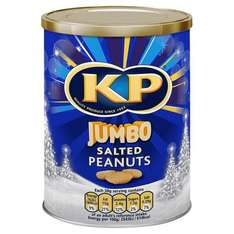 KP peanuts tub 465g for £2  Iceland