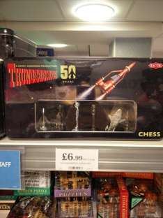 Thunderbirds 50th Anniversary Chess set in tin £6.99 @ Home Bargains