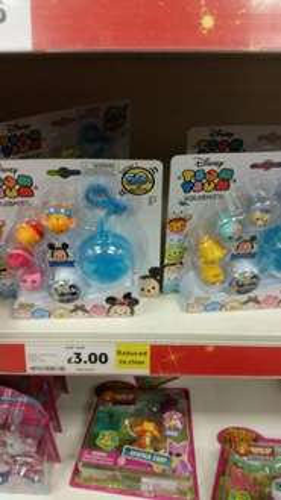 Disney TSUM TSUM 5 pack with case £3 instore @ Tesco