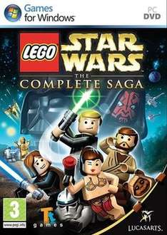 LEGO Star Wars : The Complete Saga PC (OOS) and Star Wars Battlefront II 99p @ Game