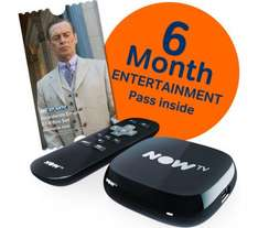 Now TV With 6 Months Entertainment Pass £19.99 @ Currys
