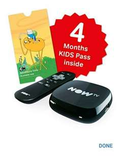 Now TV Box + 4 months kids pass for £14.24 at tesco direct and in-store. Free click and collect