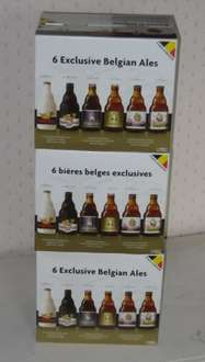 Great last minute gift idea for a beer lover 6 bottles of good strong Belgian ale (boxed) £10.49 @ Lidl