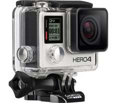 GOPRO HERO4 Action Camcorder - Silver Edition £229 Currys