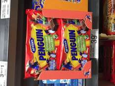 Mcvities Penguin 10 pack cake bars at FarmFoods for 39p
