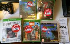 Asda game sale - various titles instore