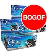Quest Nutrition Protein Bars - Dated Nov-Dec 16 - Buy One Get One Free  Discount Supplements