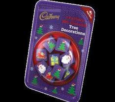 Pack of 9 Cadbury Chocolate Christmas Tree Decorations-3 packs for £1 at Heron Foods