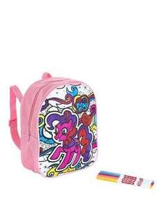 My Little Pony My Little Pony Scribble Me Backpack - Pinkie Pie- £16.99 down to £6.99 @ Very - Free C&C