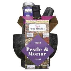 Indian Pestle & Mortar Gift Set £7.50 (was 12) @ tesco  free c+c [Granite pestle & mortar  + Comes with 45ml cumin infused sunflower oil and 35g of black peppercorns]