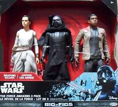 Star Wars The Force Awakens 3 pack 18 inch Collection Pack reduced to £11.96 @ Costco MILTON Keynes