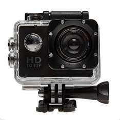Euro Car Parts Top Tech HD Outdoor Action Cam (Black) - 1080p £23.99 was £59.99*