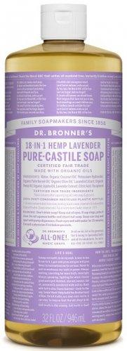 NO SOAP NO HOPE: Dr Bronner 18-In-1 Hemp Lavender Pure-Castile Soap (946 ml) £10.95 DELIVERED @ dolphinfitness