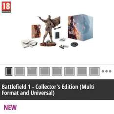 Battlefield 1 Collectors Edition (no game) £49.99 GAME