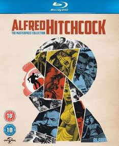 Alfred Hitchcock: The Masterpiece Collection Blu-ray (14 Discs) £17.99 at Zavvi