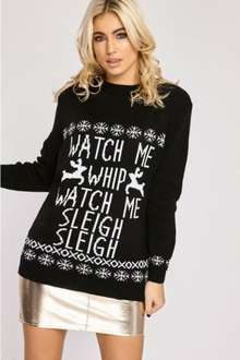 Christmas jumpers now £5.99 inthestyle - lots of diffrent designs by c list celebs (99p next day delivery until 6pm tonight)