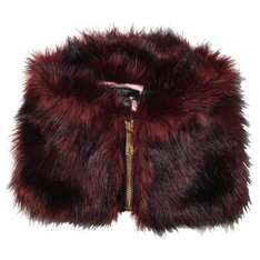 Ted Baker Womens Arba Zip High Neck Faux Fur Collar Mid Red £24.99 @ mandmdirect £29.48 delivered