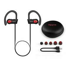 Jogging Bluetooth headphones reduced to £19.99 with Prime  Sold by Hippox-UK and Fulfilled by Amazon