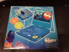 Lexibook Disney Finding Dory Portable DVD Player reduced from £55 to £24.99 in store at Asda (red ticket item)