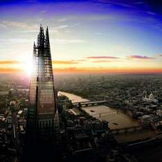 KIDS GO FREE TICKET to the SHARD with each adult ticket £25.95 @ The View from the Shard