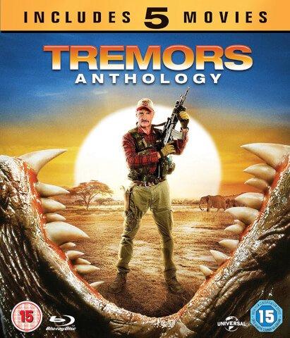 Tremors Anthology Blu Ray, inc. 1-5, £12.99 at Zavvi