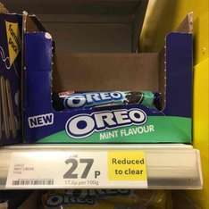 Oreo mint and strawberry cheesecake at Tesco for 27p